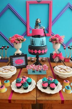 Monster High Party with Lots of Cute Ideas via Kara's Party Ideas | KarasPartyIdeas.com #MonsterHighParty #Party #Ideas #Supplies (42)