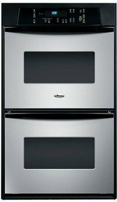 "Amazon.com: Whirlpool RBD245PRS 24"" Stainless Steel Electric Double Wall Oven: Kitchen  Dining"