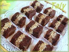 """I """"Morettini"""" -Simpatici pasticcini al #cioccolato con crema a base di #Nutella e #panna"""
