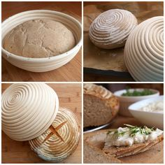 kváskový chléb-psenicno-razny Savory Muffins, Yummy Food, Tasty, Bread And Pastries, How To Make Bread, Bread Making, Pavlova, Naan, Baking Recipes