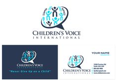 Help us restore the rights of children with a logo by rebecca777
