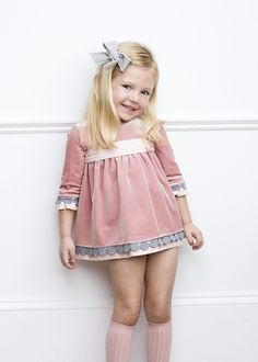 Our Children's Fashion Collections are designed to dress our little ones with a unique style and quality clothing. Pilar Batanero creates high quality product manufactured in Spain. Toddler Dress, Baby Dress, Toddler Girl, Beautiful Little Girls, Cute Little Girls, Little Girl Fashion, Boy Fashion, Little Girl Dresses, Girls Dresses
