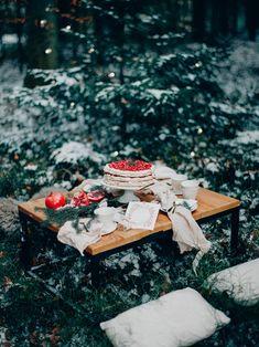 Winter Pavlova Rezept mit Granatäpfel von Silvia Fischer, echte Kuchenliebe
