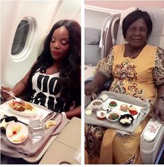 Empress Njama jets out with her mum for Summer vacation (Photos)