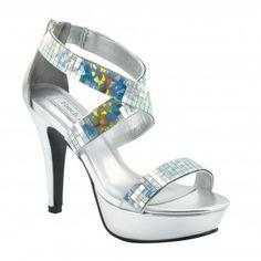SADIE-557 Women High Heels - Silver