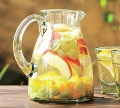 The colors of summer in delicious, sugarless, cool, refreshing, drink recipes