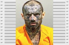 30 Highly Disturbing Mug Shots - Wow Gallery Satan, Cool Pictures, Funny Pictures, Are You Serious, Scary Faces, Bad Life, Face Tattoos, Character Creation, Character Reference