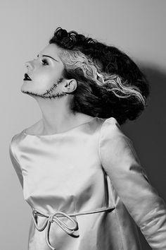 The Cherry Blossom Girl - Monster Mash Halloween Inspiration The Bride of Frankenstein Epic Halloween Costumes, Halloween 2014, Diy Costumes, Halloween Makeup, Halloween Ideas, Girl Halloween, Creative Costumes, Couple Costumes, Costume Ideas