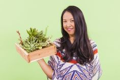 Learn to Make a Vertical Succulent Garden for Under $20