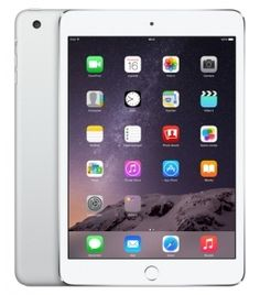 iPad : iPad Mini3 Display 7,9'' Multi-touch 16Gb WiFi Cellular 4Gb iOS 8 Colore Silver - MGHW2TY/A (Italia) - daddi