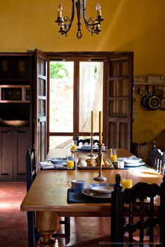 mexican kitchen/dining
