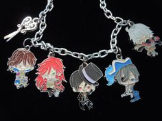 Black Butler Anime Bracelet Anime Jewelry Black by laminartz