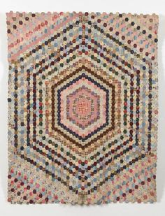 Collections | Quilt Museum and Gallery, York Maker Mrs. Holder c1880-1889
