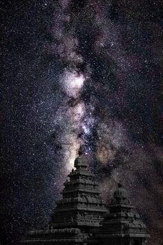 Milky Way - Sea shore Temple by Shivas Sivakumar Milky Way - Sea shore Temple The Milky Way behind the Sea shore temple at Mamallapuram, Tamilnadu. India @sunishsebastian