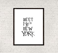 New york cityNew york quoteInstant by mixarthouse on Etsy