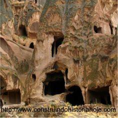Cidade subterrânea de Derinkuyu é um dos maiores mistérios da humanidade.