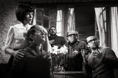 Matthias Clamer's Bergman-themed photos for It's Always Sunny in Philadelphia (x)