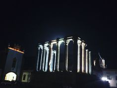 Templo romano de Évora - Portugal