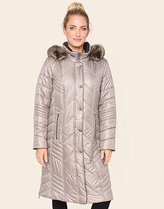 Puffer Coats, Elegant, Fur Coat, Raincoat, Winter Jackets, Products, Fashion, Back Stitch, Flannel