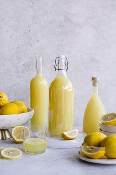 Limoncello isn't hard to make at home! Transport yourself to the Amalfi coast with this delicious lemon liqueur #pinacooks #limoncellorecipe | pinabresciani.com @pinabresciani Making Limoncello, Limoncello Recipe, Homemade Limoncello, Grain Alcohol, Alcohol Sugar, All You Need Is, Boil Lemons, Lemon Juice Benefits, Lemon Liqueur