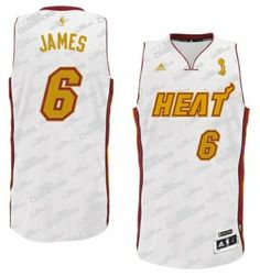 lebron james white hot jersey cheap