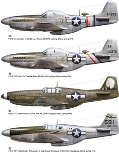23rd Fighter Group: Chennault's Sharks P-51s