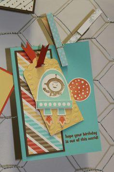 Retro Fresh Designer Series Paper SU set: Blast Off