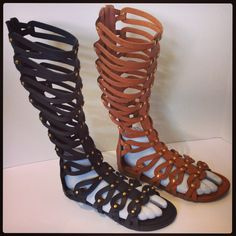 Gorgeous Gladiator Sandals To Finish Off Your Outfit