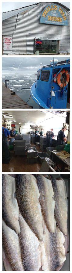 Marquette, MI: Thill's Fish House - Fresh Caught + Smoked Lake Superior Whitefish #michigan #foodie