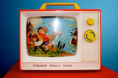 Fisher Price Two Tune Television