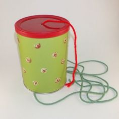 This is a fun way to practice a song. Get a can or jar. I used a small Carnation hot chocolate can because it& sturdy and has a nice plasti. Primary Songs, Primary Singing Time, Lds Primary, Primary Teaching, Primary Lessons, Primary Program, Teaching Music, Primary Colors, Singing Lessons