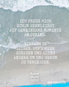 Auf's Meer schauen und ALLES andere vergessen! Mee(h)r >>