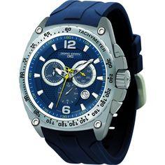 Jorg Gray JG8400-21 Blue Chronograph Men's Watch | Silicone