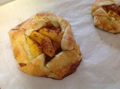 Peach Galette.  Can also be made with other fruits.