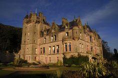 Belfast Castle in Ireland.