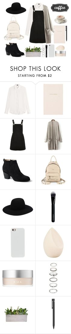 """""""Warm and cute"""" by shaikha-s ❤ liked on Polyvore featuring Joseph, Kate Spade, Oasis, Lands' End, Givenchy, Off-White, Christian Dior, RMK, Forever 21 and Parra"""