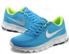 2014 Nike Free Women Dodger Blue Electric Green Off White You will fall in love with our cheap Womens shoes at net Cheap Womens Shoes, Nike Shoes Cheap, Nike Free Shoes, Cheap Nike, Girls Sneakers, Best Sneakers, Sneakers Fashion, Nike Free Runs For Women, Women Nike