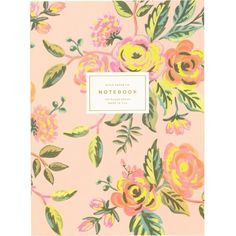 RIFLE PAPER Jardin de Paris memoir notebook ($20) ❤ liked on Polyvore featuring home, home decor, stationery, filler, books, accessories, decor and item