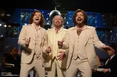 Jimmy Fallon and Justin Timberlake and  Barry Gibb. The Barry Gibb Talkshow.