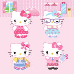 Sanrio Animated Gifs: Hello Kitty:)