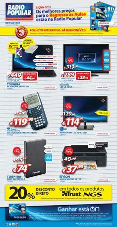 Newsletter - Os melhores preços para o Regresso às aulas!  http://www.radiopopular.pt/newsletter/2012/81/#