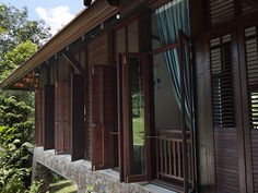 Group house close to KL: Villa Kuang , Sungai Buloh    Travel and venture into Malaysian traditional living and get hit by nostalgia, amidst natural surroundings and livestock on the homestead.  Villa Kuang offers families a unique enriching experience beyond measure and time. The house is impressively built by a Kelantanese craftsman using natural kempas, balau timber and stone,