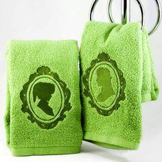 Link And Zelda Hand Towels