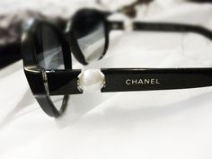 ❥  chanel sunglasses with pearls