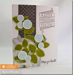 New Waltzingmouse goodies help create this birthday card!