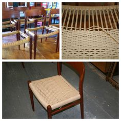 Good morning all, just wanted to show off our craft skills hope you don't mind? Here is a woven Danish-cord seat.