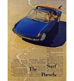 Porche 914. Cool, but sadly unloved.