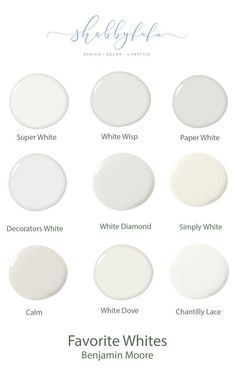 Neutral Paint Shades for Interiors {The Best} How to select the best neutral shades of paint and my favorite white paints from Benjamin Moore. Interior Paint Colors For Living Room, Bedroom Paint Colors, Paint Colors For Home, House Colors, Interior Colors, Off White Paint Colors, Paint Colours, Interior Painting, Best Neutral Paint Colors
