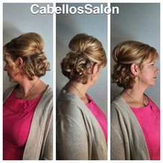 Beautiful updo for the Governor Manson Ball tonight! #cabellossalon #cabellostally #tally #Tallahassee #hair #salon #updo #hairsalon #pretty #short #curls #eventhairstyle #redken @redken5thave @modernsalon @behindthechair_com #styleyourstory #redken