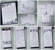 Google Image Result for http://emdotzee.com/blog/wp-content/uploads/2011/06/Pink-and-Navy-Floral-Print-Pocketfold-Wedding-Invitations-Programs-1024x927.jpg